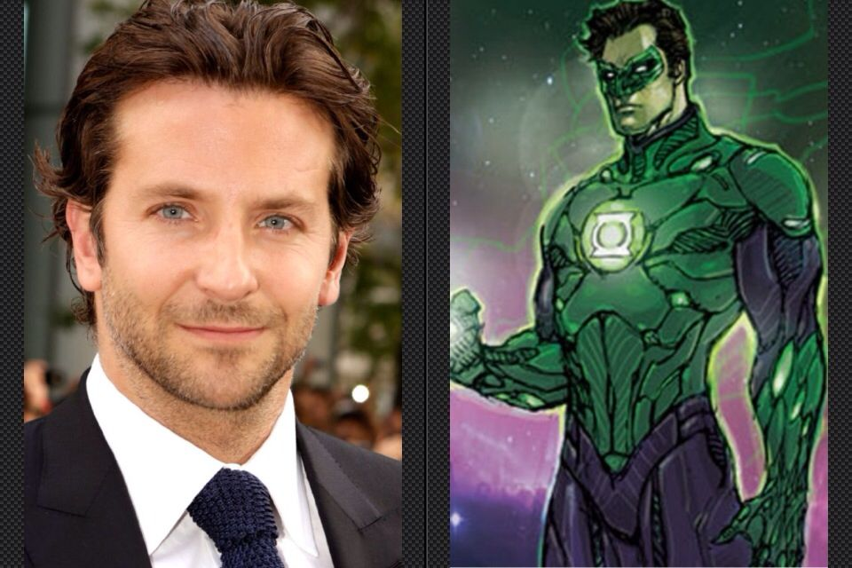 Bredley Cooper Might Be Seen In Green Lantern Corps