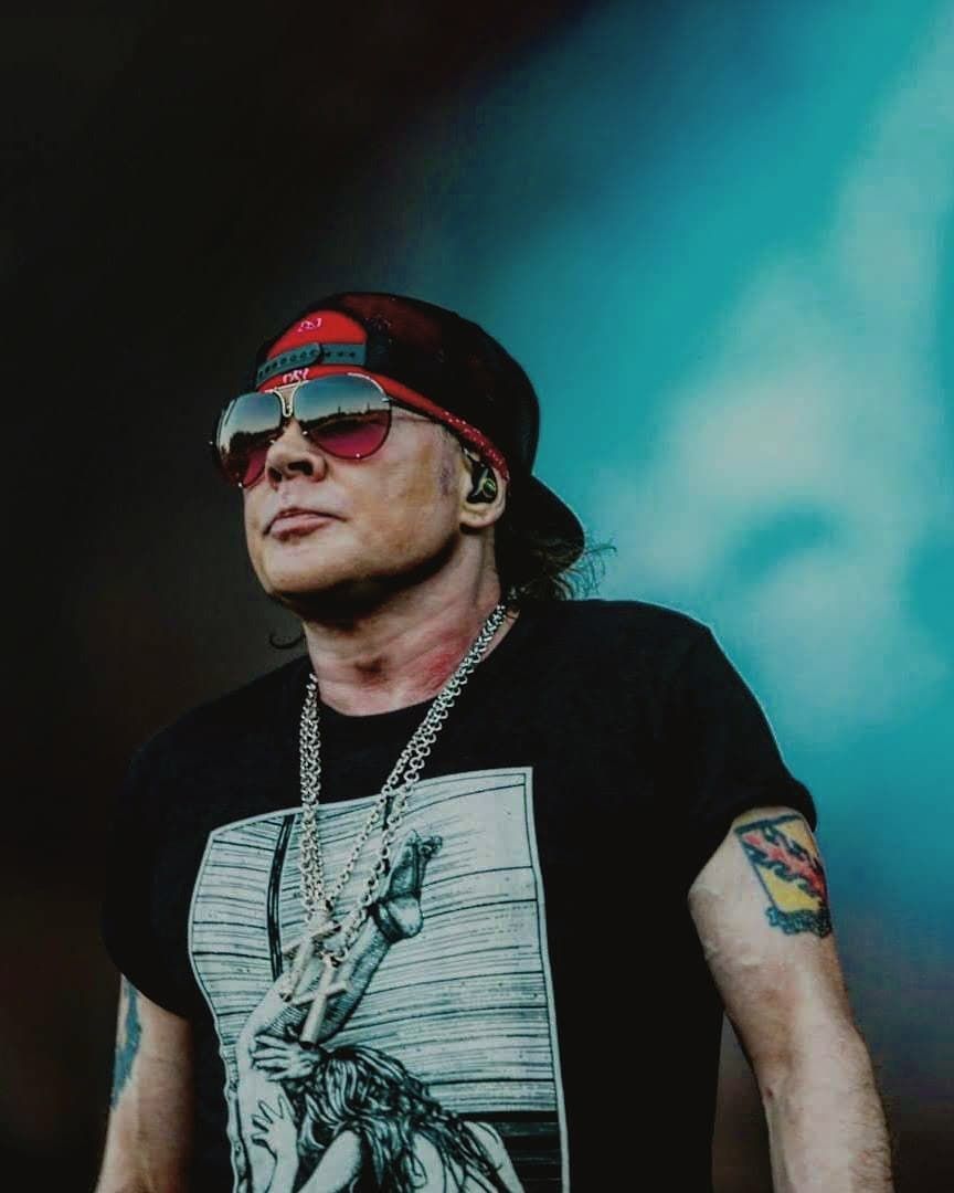 "GUNS N ROSES shared a post on Instagram: ""Ax . . . . #notinthislifetime #notinthislifetimetour #axlrose #axl #waxlrose #rock #rockandroll…"" • Follow their account to see 887 posts."