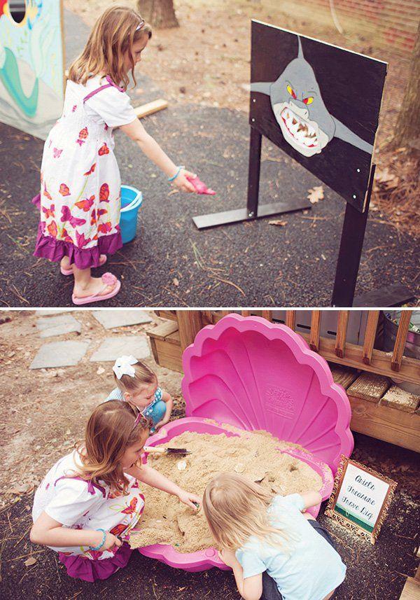 die besten 25 die kleine meerjungfrau spiele ideen auf pinterest meerjungfrau party spiele. Black Bedroom Furniture Sets. Home Design Ideas