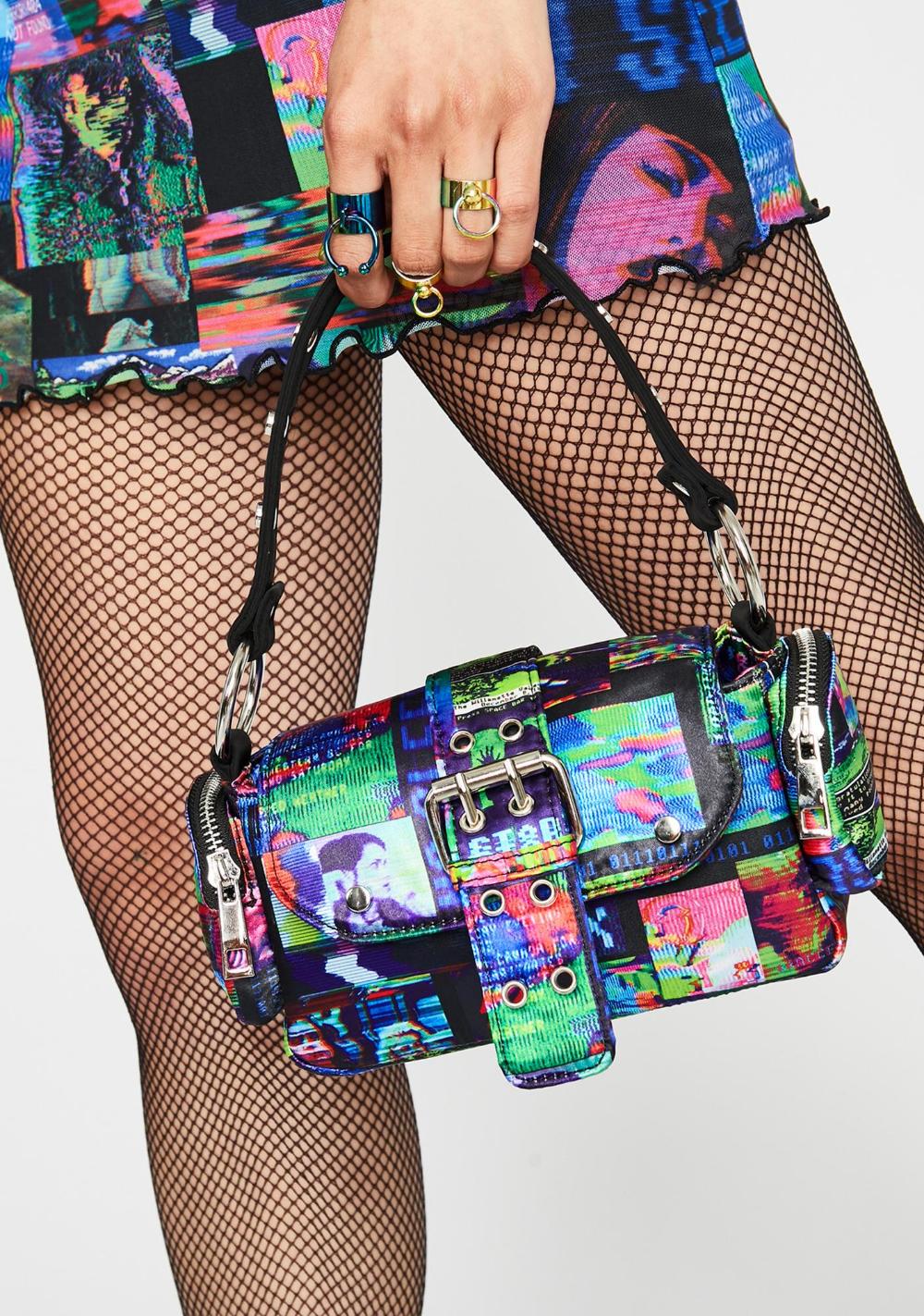 Human Error Mini Handbag Mini handbags, Handbag, Ruffled