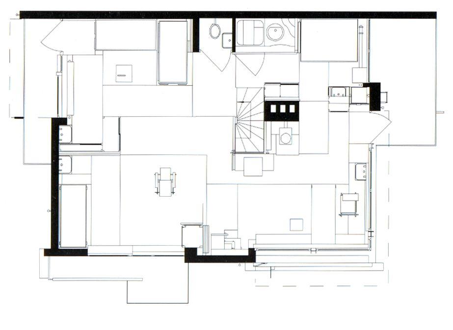 Rietveld Schroder House Floor Plans | Schroder House