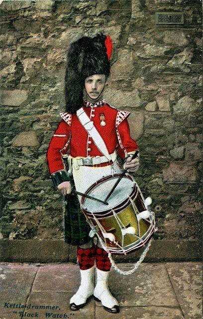 Kettle Drummer Black Watch Regalia British Uniforms