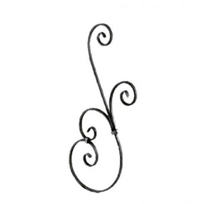 SIMEN METAL 21.133 Wrought Iron Forging Ornamental Balustrade Forged Pickets