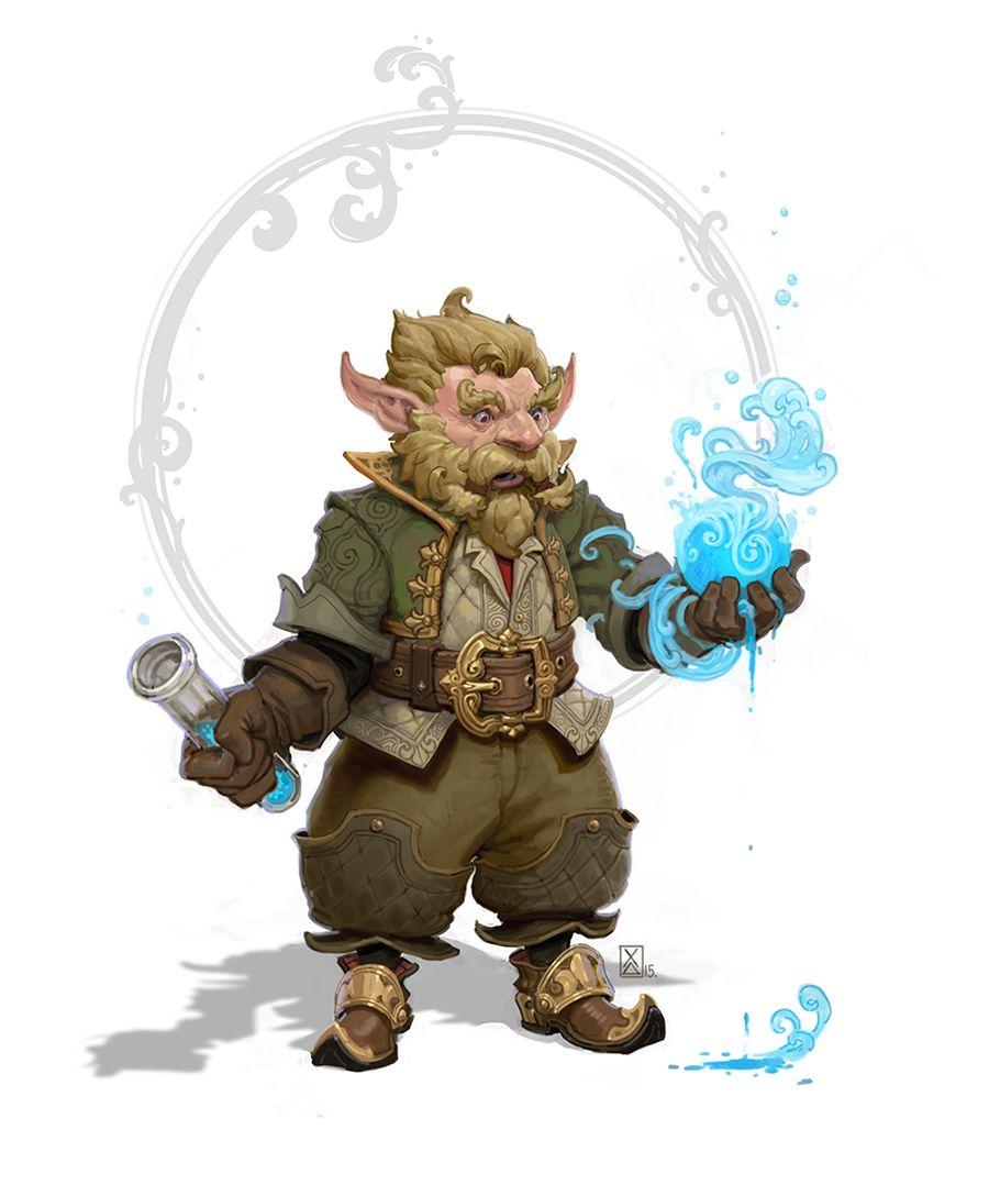 alchim by armandeo64 gnome alchemist sorcerer wizard warlock armor