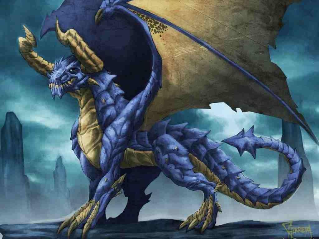 How to breed heraldic dragon - Blue Demon Dragon