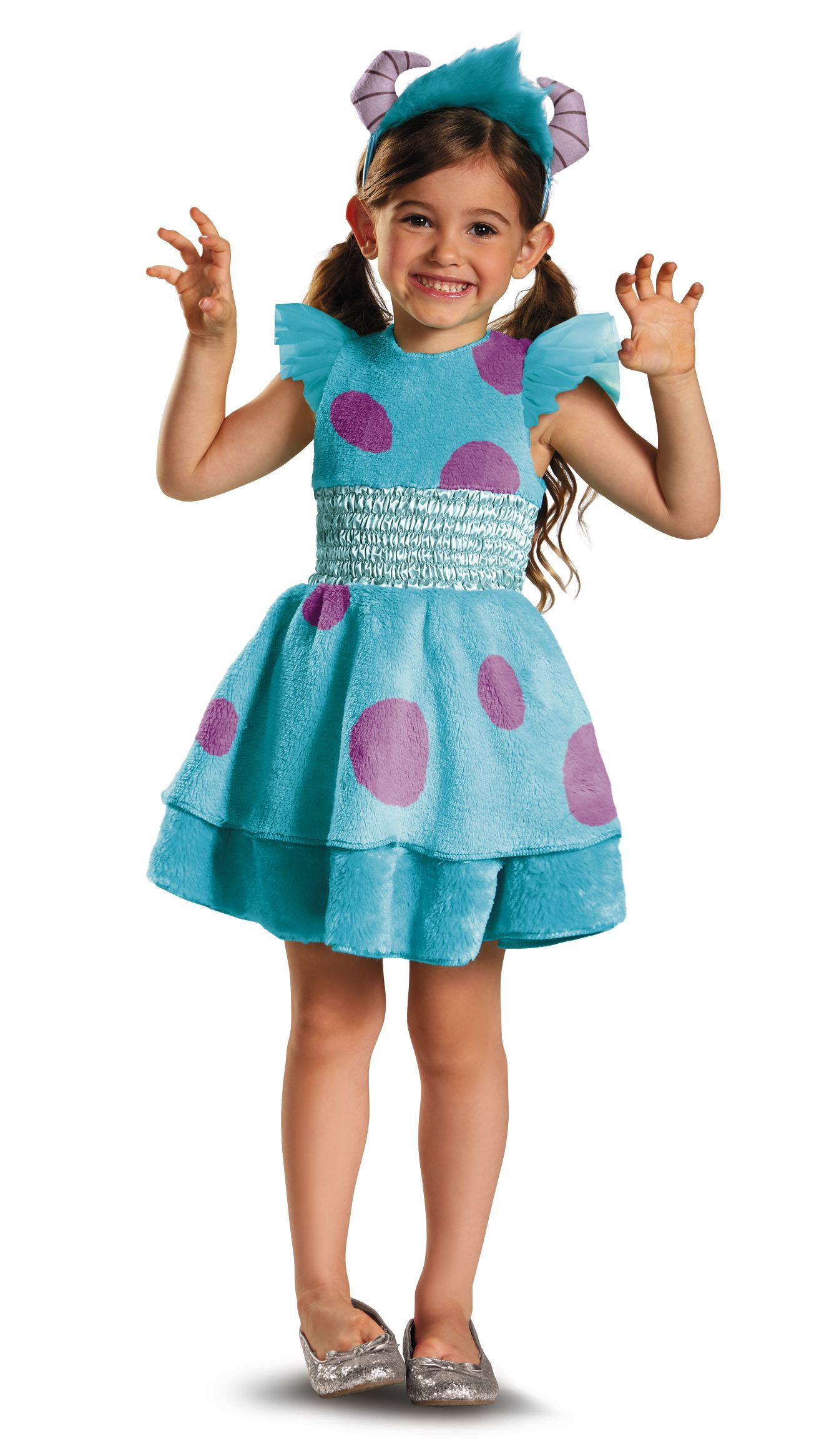 Clearance Toddler S Sully Monsters Inc Dress Costume Toddler Costumes Girl Halloween Costumes Women Toddler Halloween Costumes