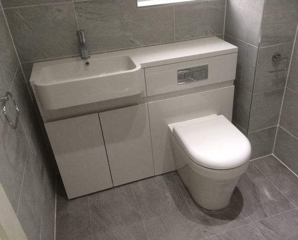 Toilet Sink Combination Unit Wall Mount Kitchen Sink Bathroom