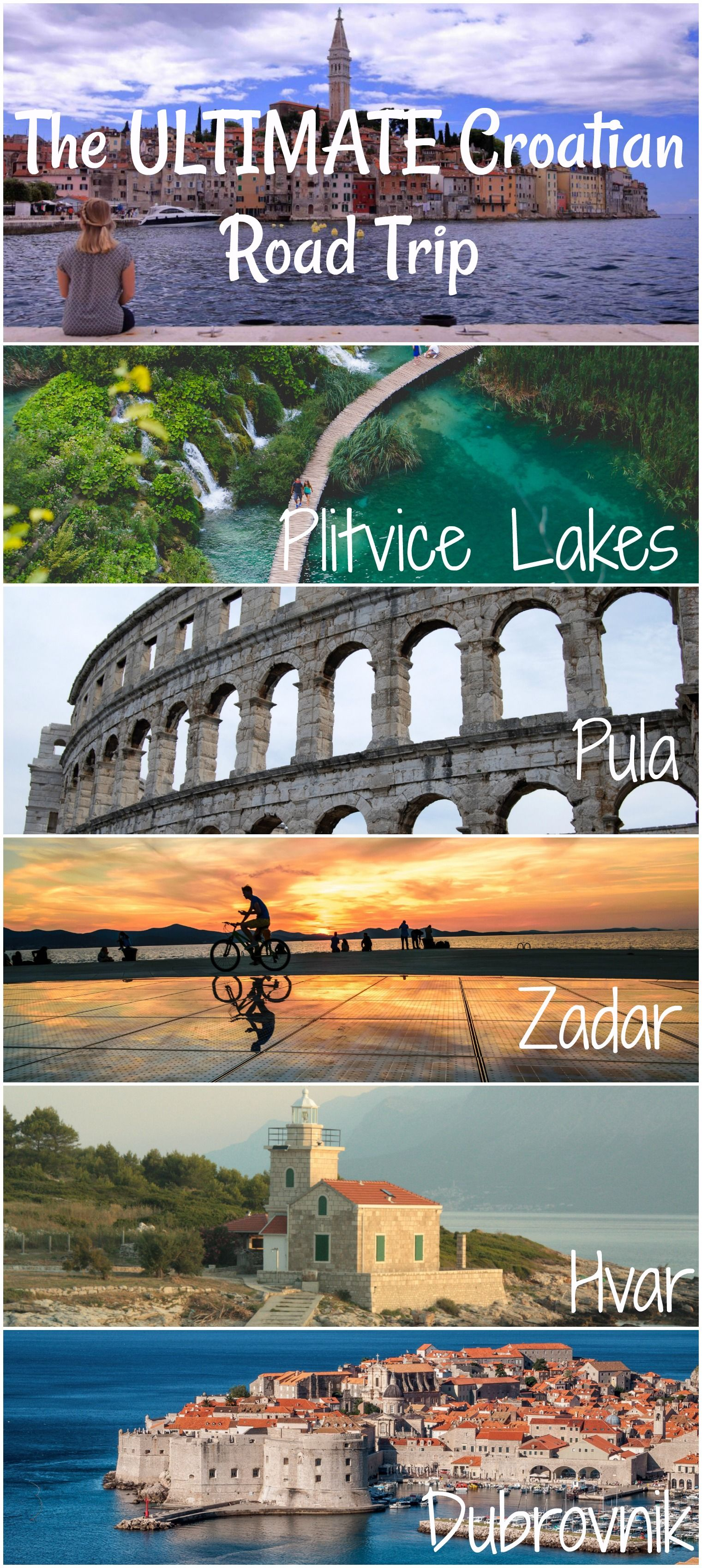 Where To Go In Croatia On Vacation Balkans Travel Eastern Europe Travel Road Trip Fun