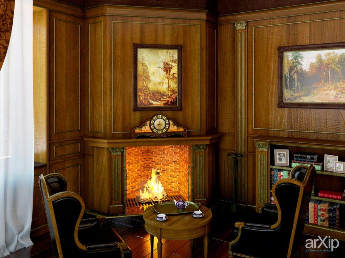 Дом в Гореничах: интерьер, квартира, дом, кабинет личный, кабинет руководителя, ар-деко, 30 - 50 м2 #interiordesign #apartment #house #personalcabinet #officeofceo #artdeco #30_50m2