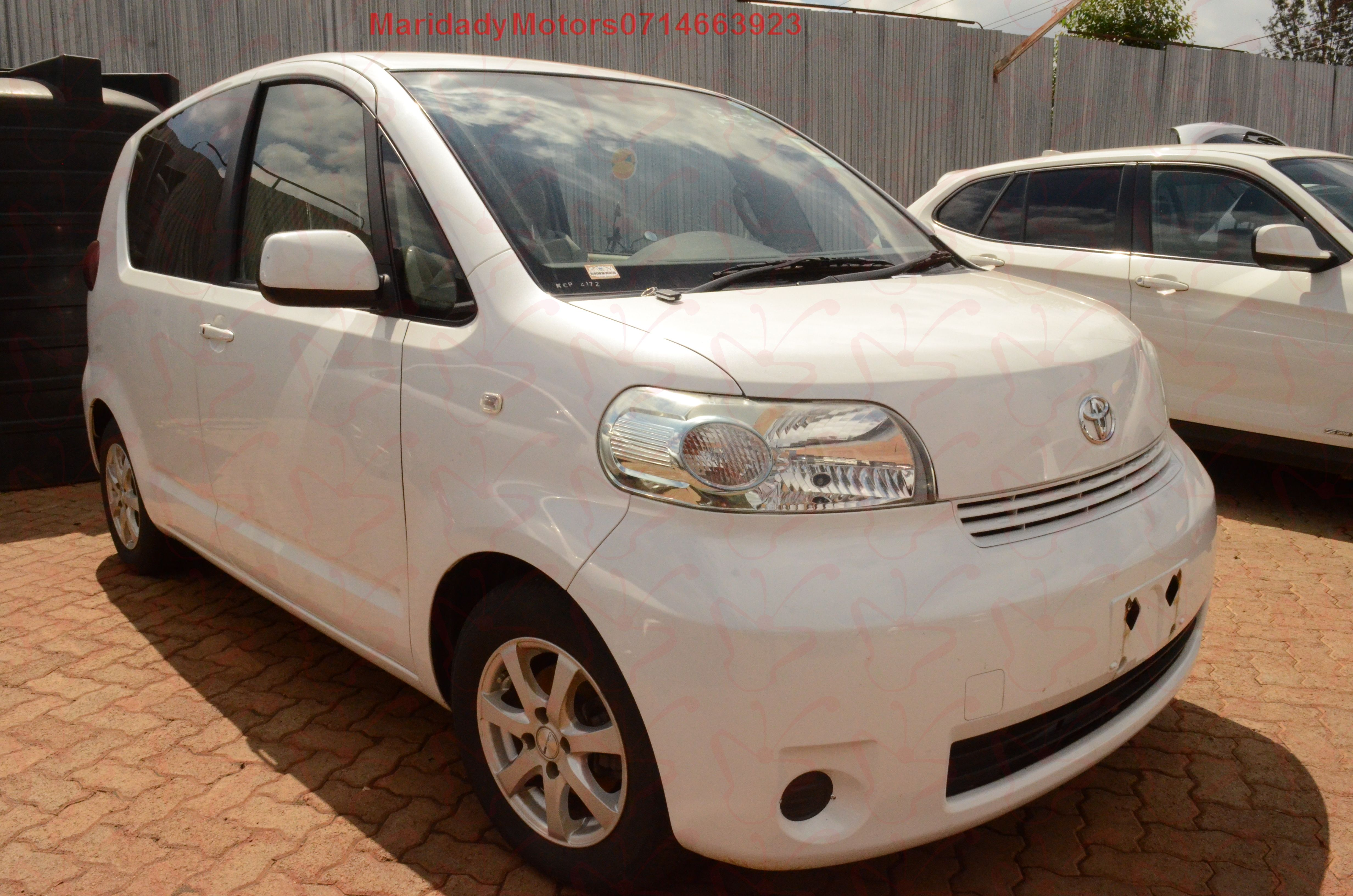 Maridady Motors is ready to offer your this Toyota Porte