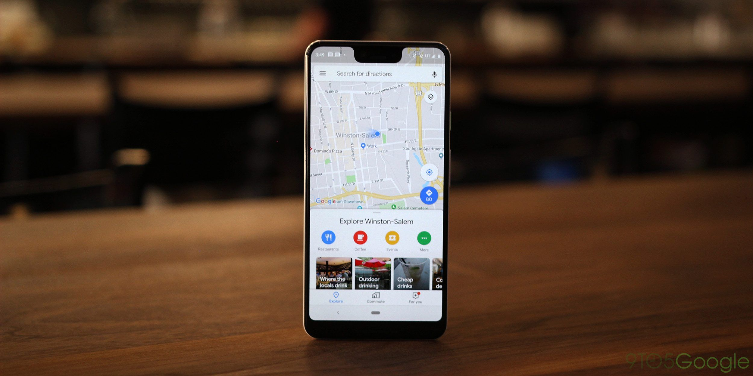 Google Maps for Android revamps nav drawer with Google