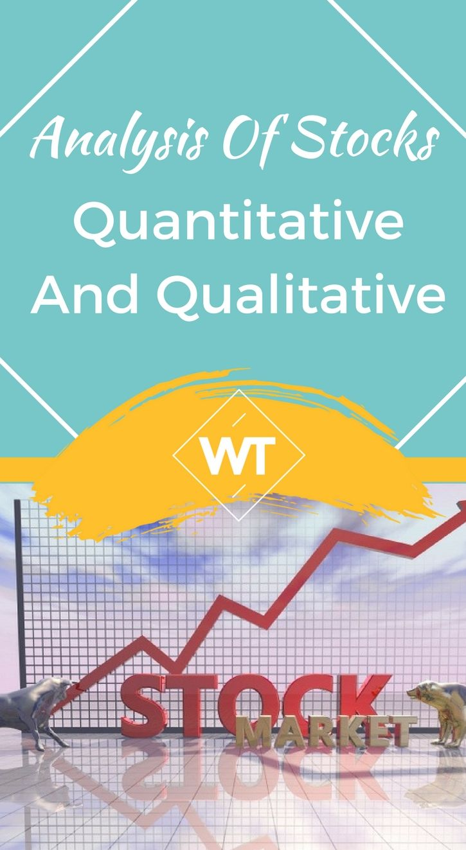 Analysis of stocks quantitative and qualitative penny