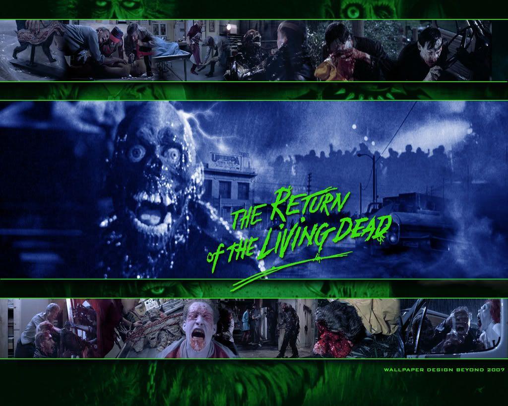 The Return Of The Living Dead Living Dead Dead Poster
