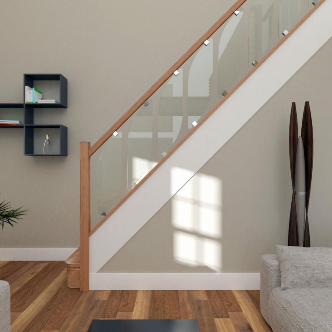 Inspirational Stairs Design: 36 Modern Indoor Stair Railing Kits Systems For Your
