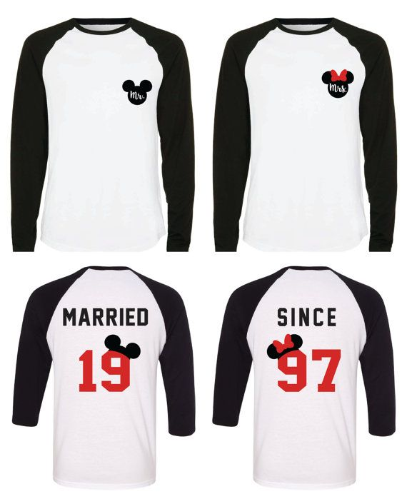 18288eab2 Disney Couple Shirts / Honeymoon and Anniversary Shirts /   Cute ...