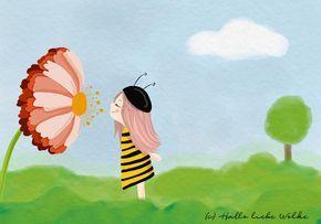 Warum Bienen wichtig sind? Prinzessin Blaublüte erklärt's! (Lerngeschichte für Kinder) #sciencehistory