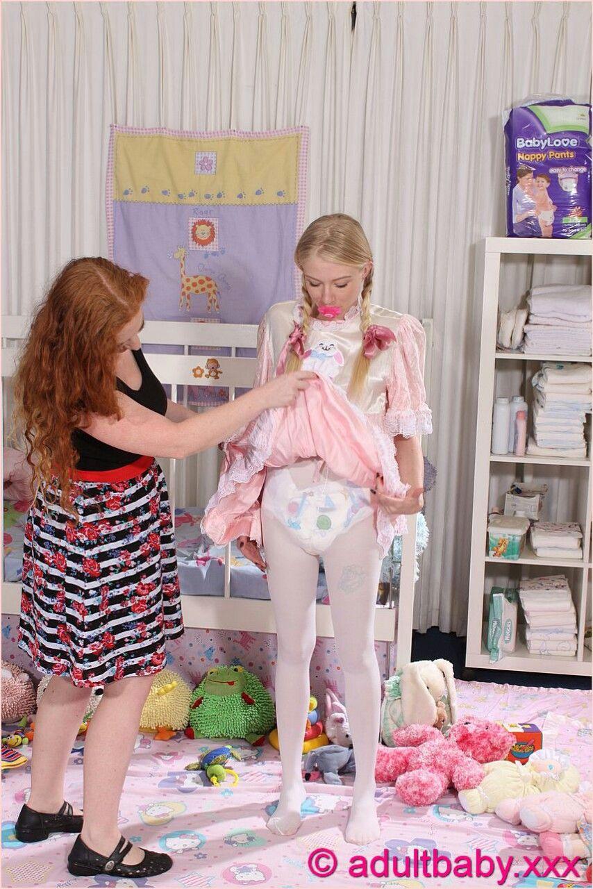 Feminized sissy gets spanked by mistress 6