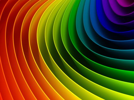 Rainbow Color Spectrum Color Theory 2048x1152 Wallpapers