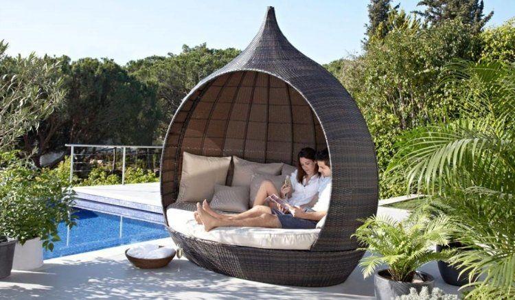 moderne Lounge Möbel mit außergewöhnlicher Form | Garten | Pinterest