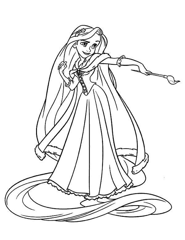 Ausmalbilder Rapunzel Malvorlagen Prinzessin 1 Coloring Colorear Coloriage Malvorlagen Ausmalbilde Disney Prinzessin Malvorlagen Malvorlagen Ausmalbilder