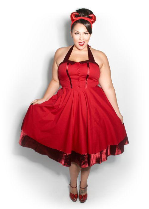 I NEED this dress!!!!!!! Domino Dollhouse - Plus Size Clothing ...