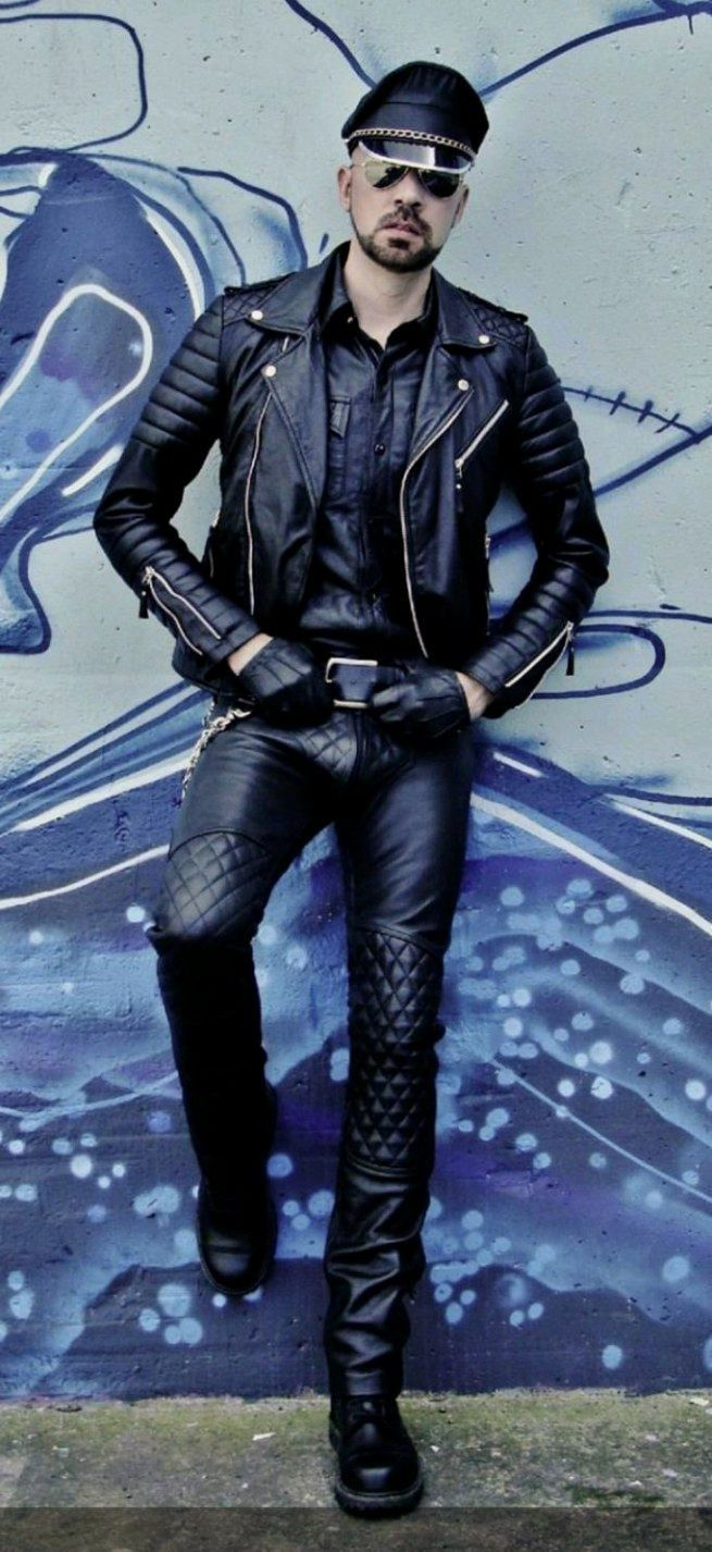 Pin by Jerry Roberts on Leather Mens leather clothing