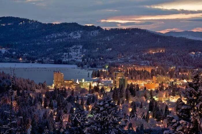 I Beautiful Shot Of Our Little Big Town Coeur D Alene Idaho Winter Coeur D Alene Idaho Coeur D Alene Id