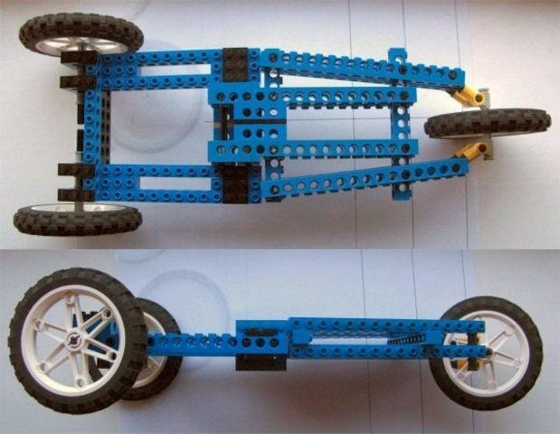 baghjulsstyring