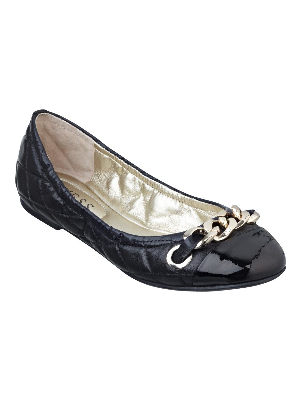 GUESS Fetoni Quilted Flats, in black