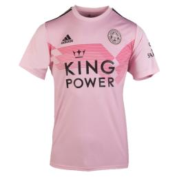 19 20 Leicester City Away Pink Soccer Jerseys Shirt In 2020 Leicester City Soccer Jersey Jersey Shirt