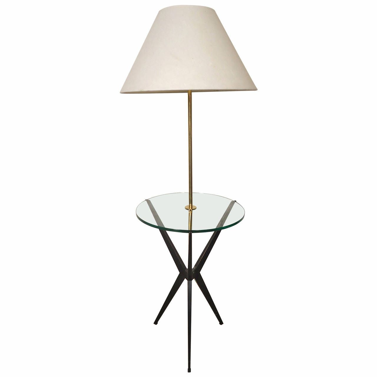 Tray table floor lamp by robert abbey floor lamp tray table floor lamp by robert abbey geotapseo Gallery