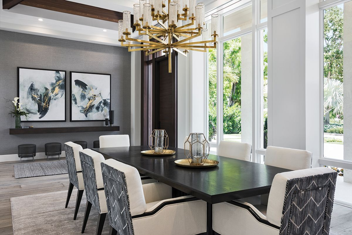 Swell In The Elegant Dining Room Visual Comforts 30 Light Candle Download Free Architecture Designs Pushbritishbridgeorg