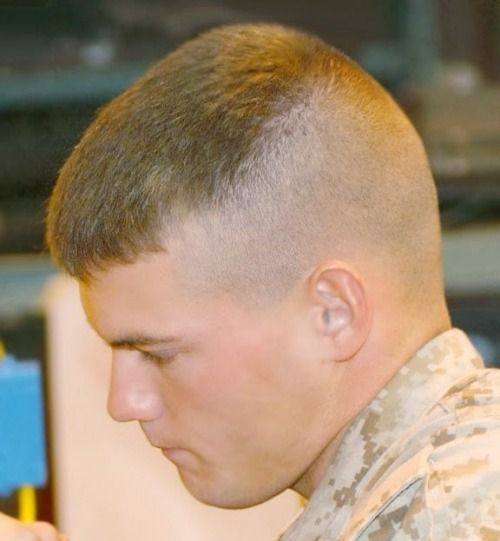 Pin By Prem Jantawong On Usmc 1 0 Military Haircut Military Haircuts Men Navy Haircut