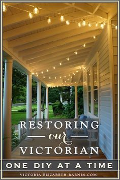 How we ended up buying a falling-down Victorian house \u0026 what it\u0027s like to & Projects | Pinterest | House Free pool and White picket fence