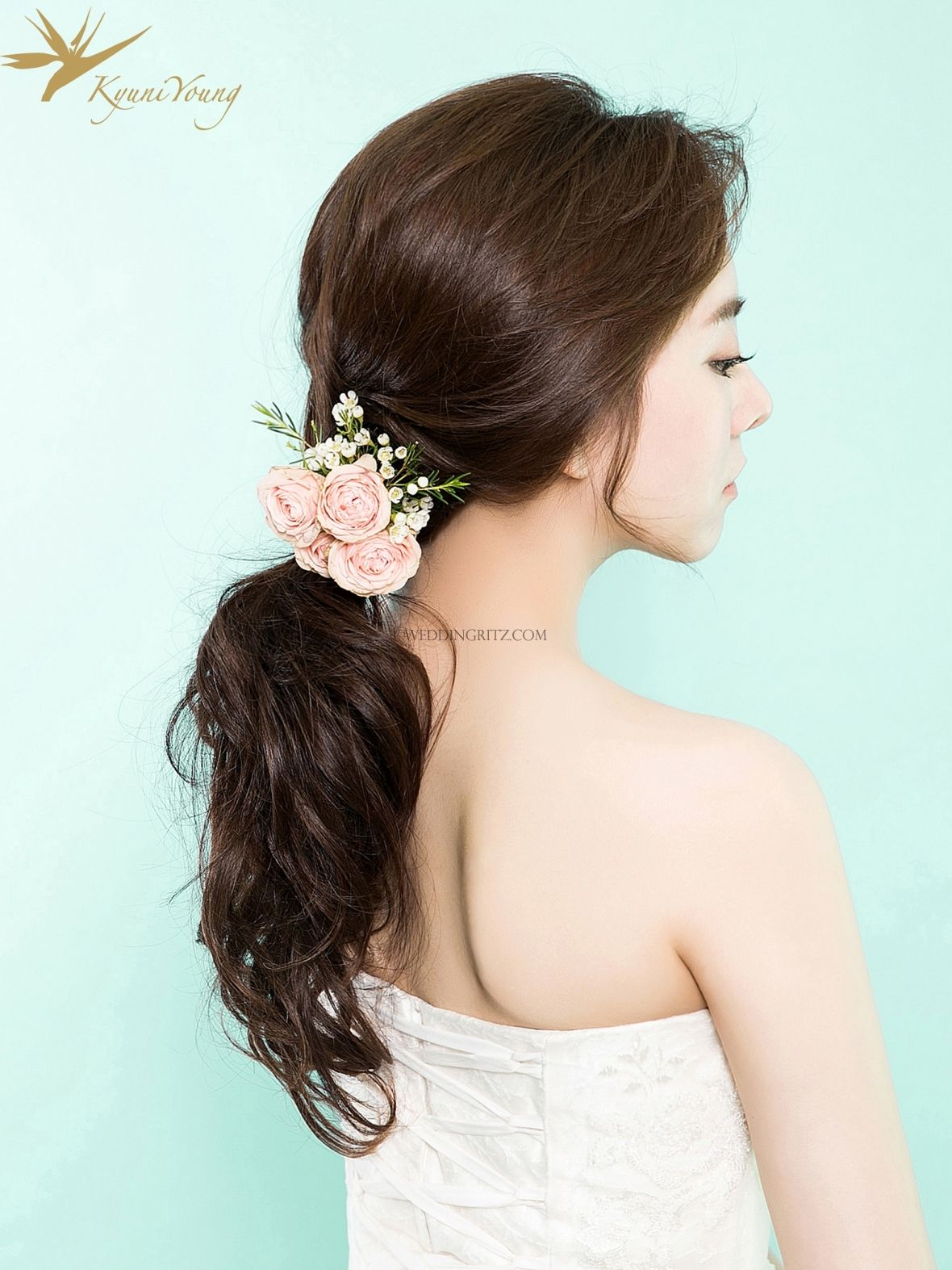 beautiful gyuniyoung in korea hair & makeup sample | wedding