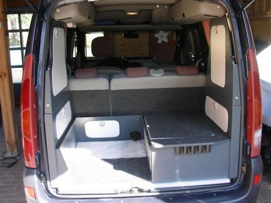 minicamper van conversion pictures this is an example of somebody who took this vehicle and. Black Bedroom Furniture Sets. Home Design Ideas