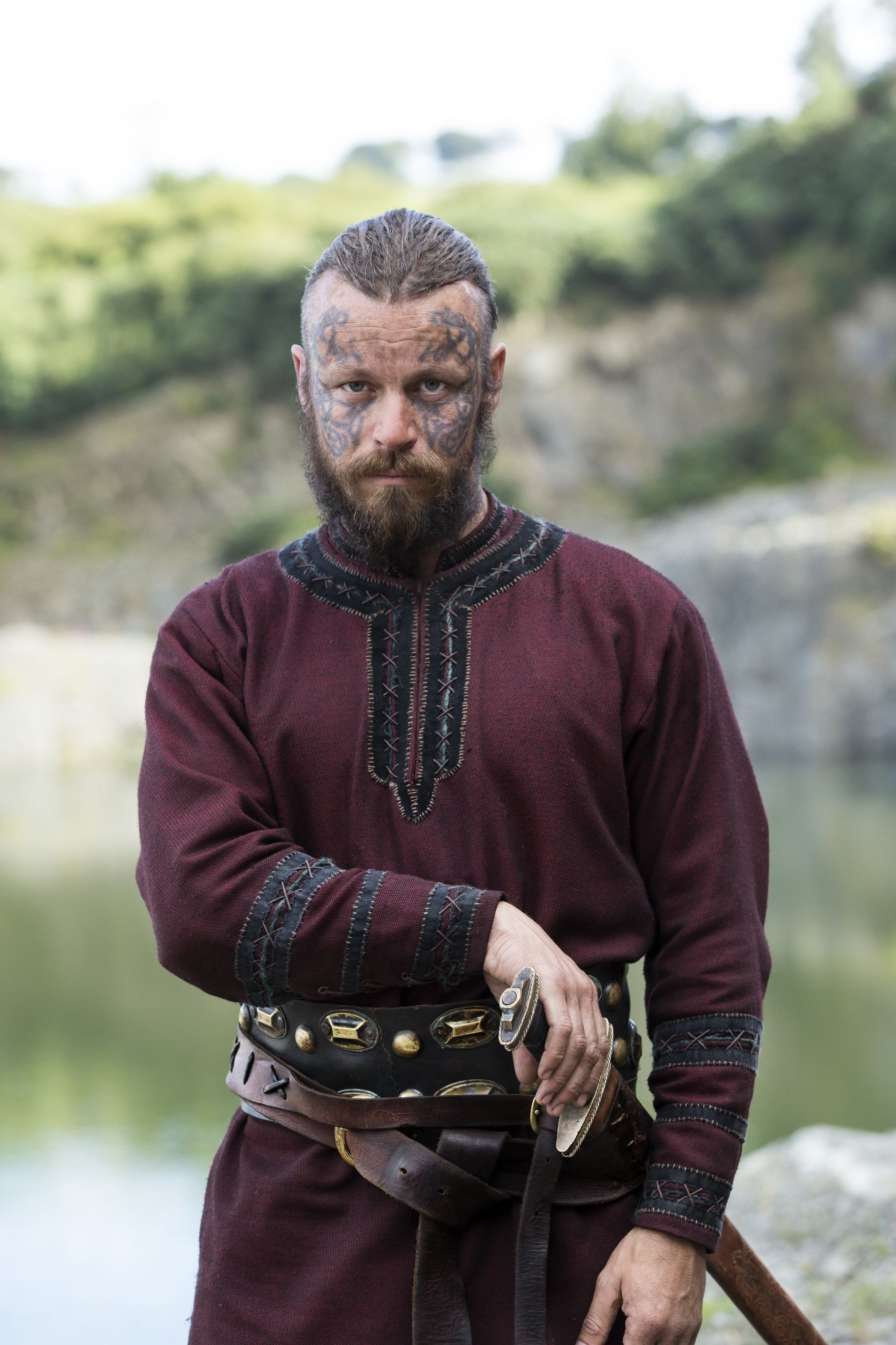 """King Harald """"Finehair"""" is a Scandinavian warrior and potential threat to Ragnar…"""