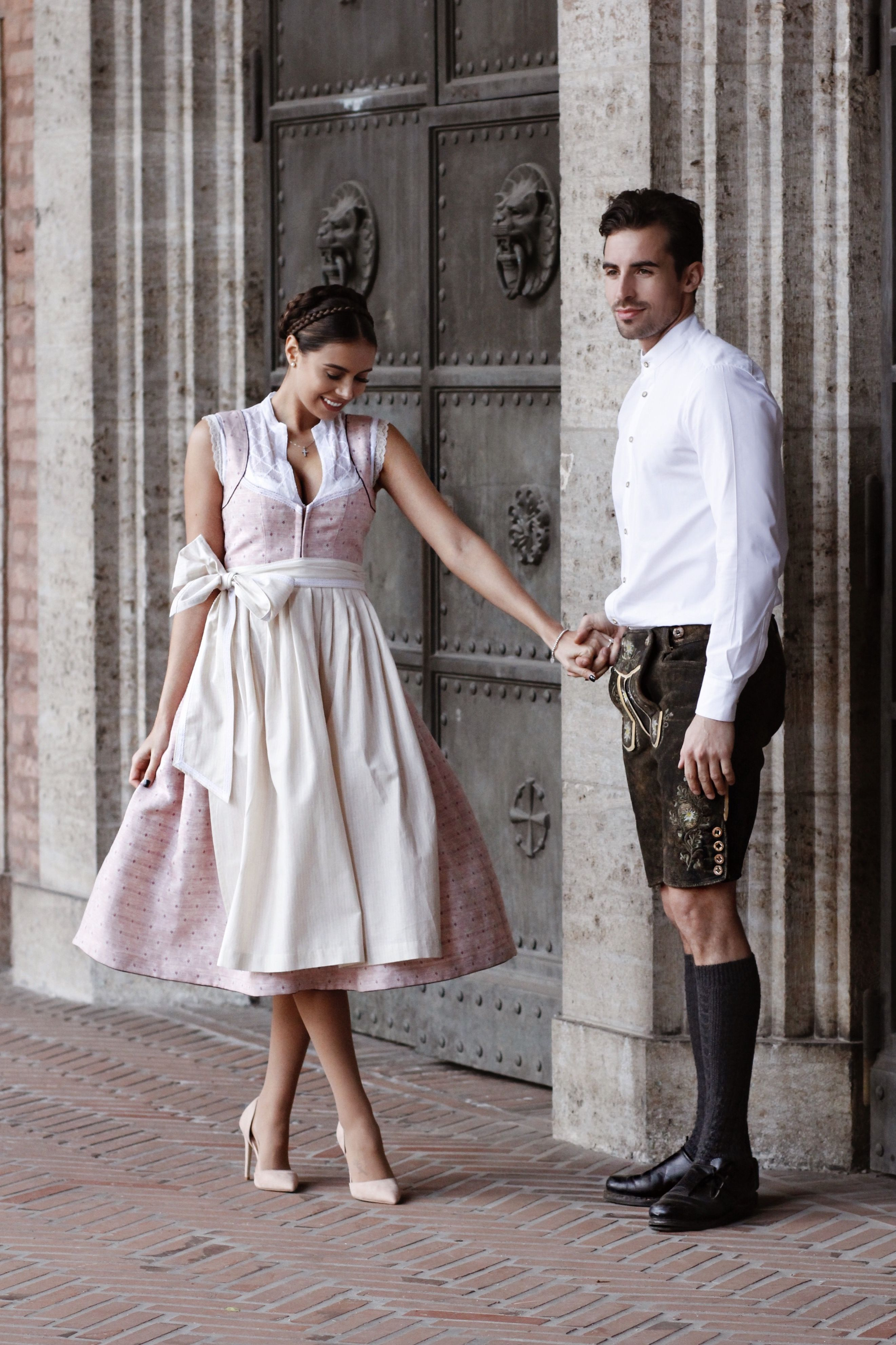 Photo of Fancy, fancier, Annelie. ? Our Dirndl in soft rosé is currently only in …