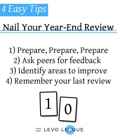 A Manager Shares  Easy Tips For Nailing Your YearEnd Review