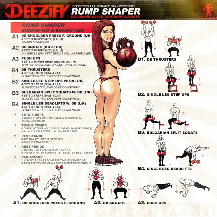WORKOUT: Rump Shaper | muscle | Pinterest