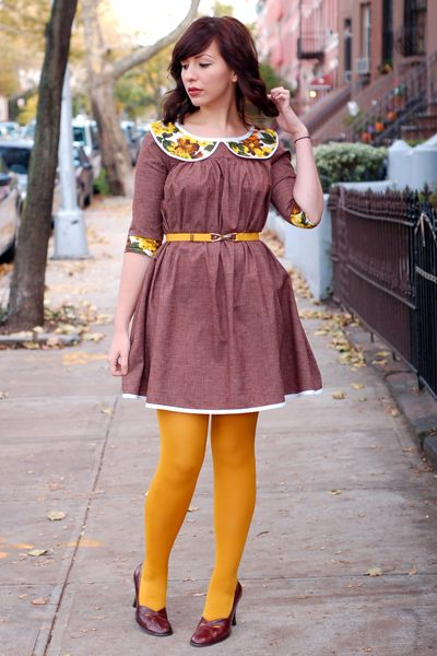 60's inspired outfit