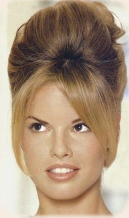 60s Hair 60er Beehive Frisur Beehive Frisur Anleitung Und