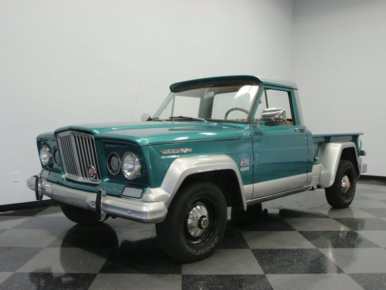 1967 Jeep Gladiator Pickup Truck Klassic Trucks Pinterest