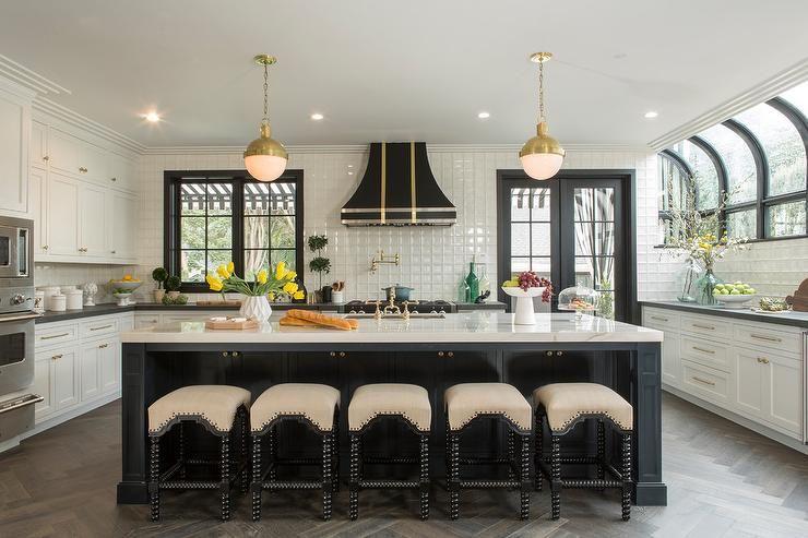 Kitchen, : Gorgeous U Shape Kitchen Decoration Design ...