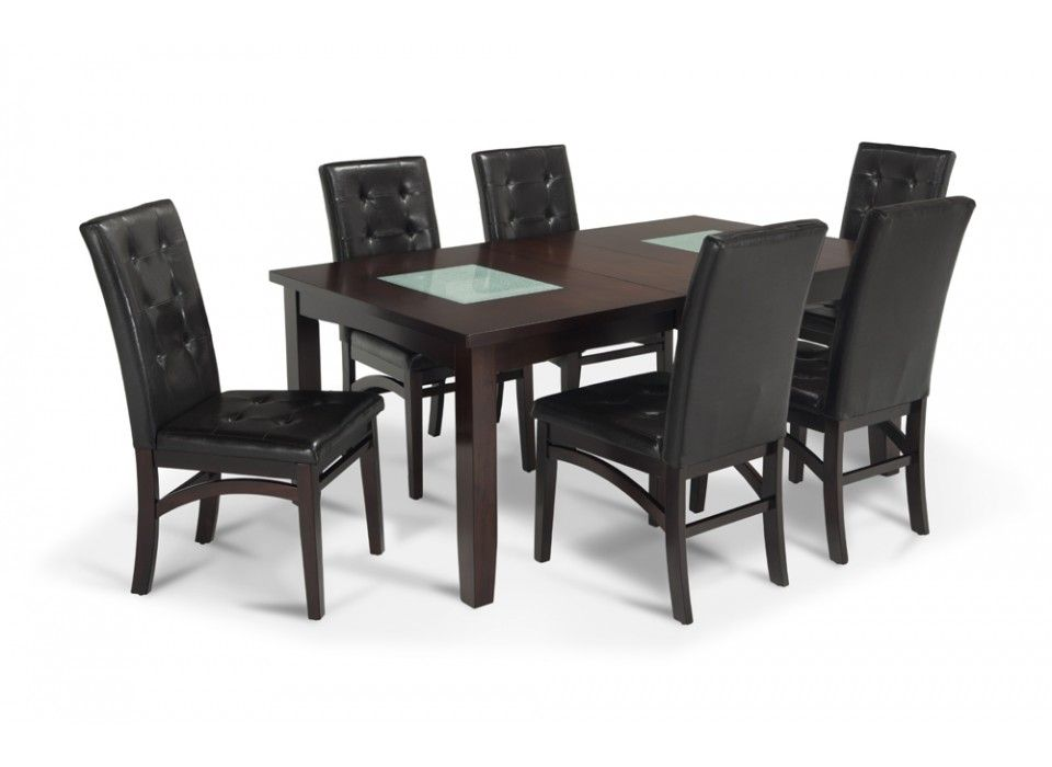 Omega 7 Piece Dining Set | Dining Room Sets | Dining Room | Bobu0027s Discount  Furniture
