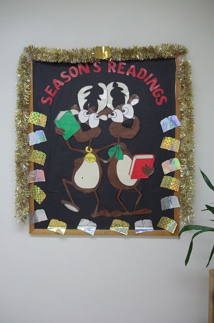 Season's Readings: Kids share their favourite Christmas stories by drawing the cover and writing inside a cover made from cardstock on the holiday (enter to win prize!)