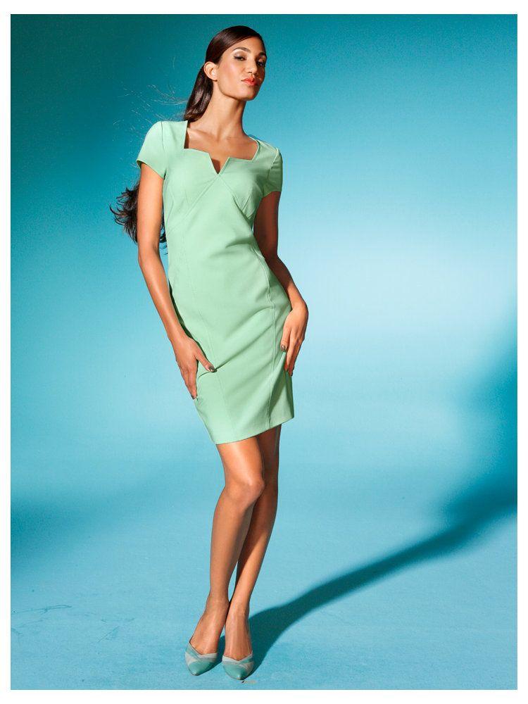 Robe femme couleur menthe