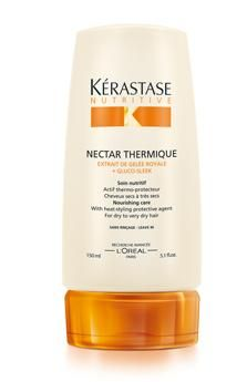 Nectar Thermique Kérastase for normal to dry hair as well as damaged to sensitized hair- rebalances and adds nutrition
