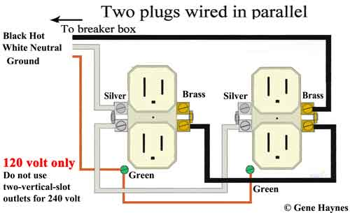 residential wiring outlets in series Google Search (With