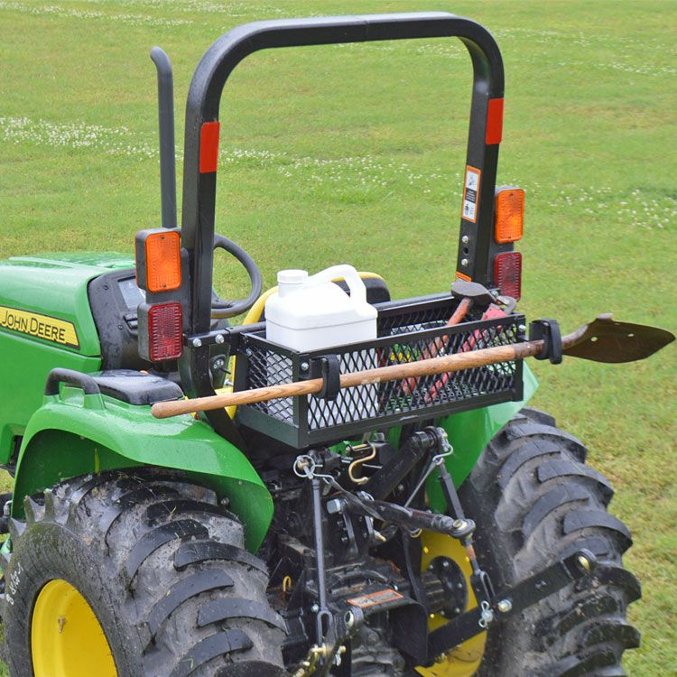 SALE Roll Bar Mounted Tool Tray - Tractor u0026 Mowers ~ Kubota John Deere & SALE: Roll Bar Mounted Tool Tray - Tractor u0026 Mowers ~ Kubota John ...
